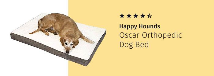 Happy Hounds Oscar Orthopedic Dog Bed, dog arthritis treatment